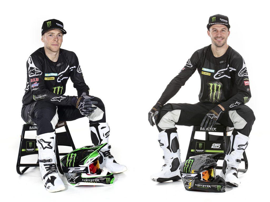 Monster Energy KRT MXGP joins Alpinestars