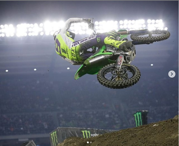 GoPro: Adam Cianciarulo – 2020 Monster Energy Supercross – 450 Main Event Highlights From St. Louis