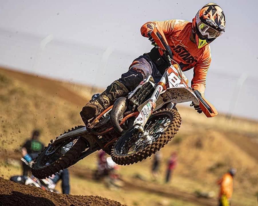 Leonard du Toit has his eyes fixed on an International motocross racing career