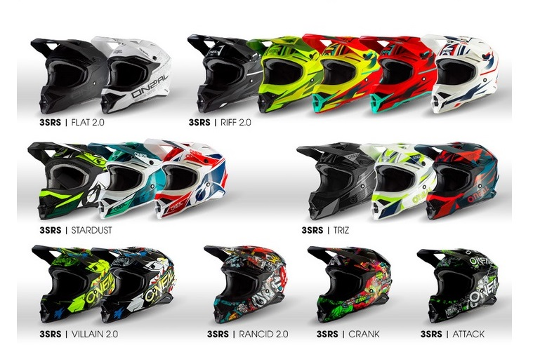 O'NEAL 3SRS HELMET – READY TO RIDE!