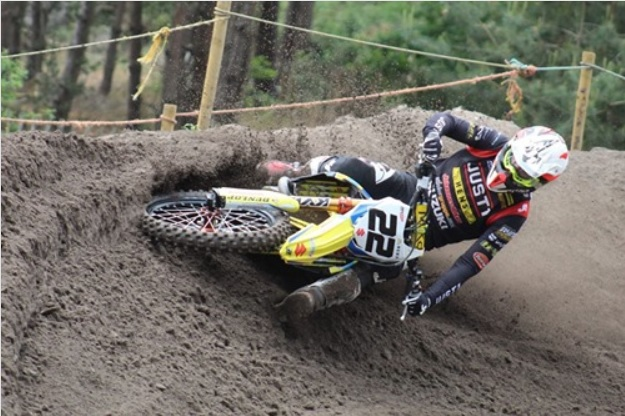 Kevin Strijbos out for the restart of MXGP