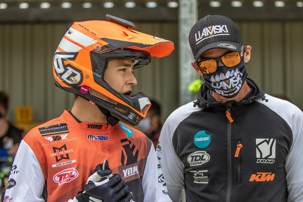Liam Everts scores 8th overall in International MX2 Race at Axel!