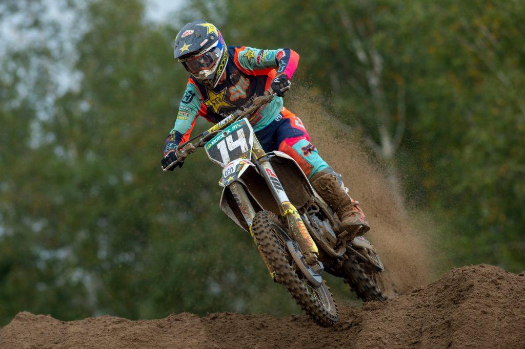 Thomas Kjer Olsen fifth in Grand Prix MX2 of Flanders