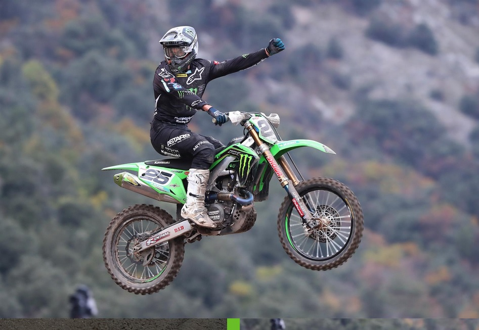 Awesome video edit triple header MXGP in Arco di Trento
